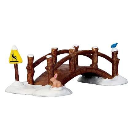 Lemax Зимний деревянный мост, 19*10 см 63276