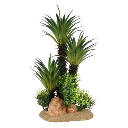 Искусственное растение для аквариума AQUA DELLA Sago Palm, 16х10х13,5 см