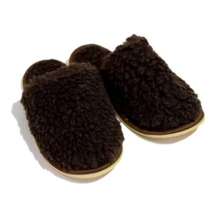 Домашние тапочки мужские Smart-Textile Домашнее тепло коричневые 42-43 RU
