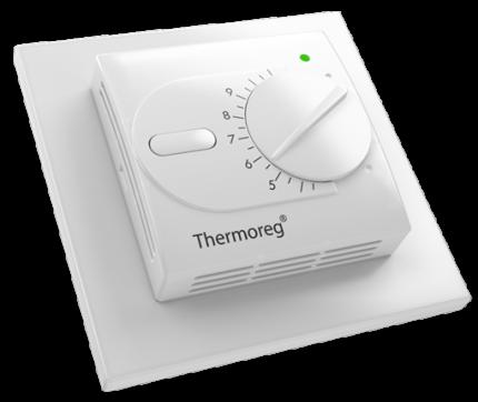 Терморегулятор для теплых полов Thermoreg TI-200 Design