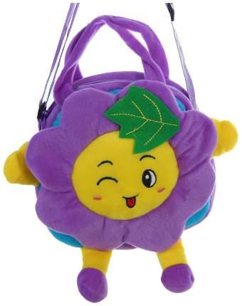 """Мягкая сумочка """"Цветочек с листочком"""", сиреневая"""