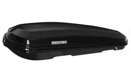 Бокс на крышу Menabo Diamond 500 duo Black