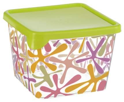 Контейнер для хранения пищи Idea Деко квадратный 0,75 л Салатовый