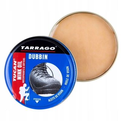 Пропитка TARRAGO Tucan Mink Oil для гладкой кожи, жированного нубука и кожи