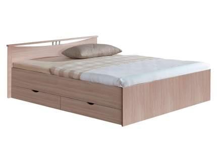 Односпальная кровать Боровичи Кровать Мелисса Шимо светлый, 1200 Х 2000 мм