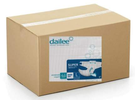 Подгузники для взрослых DAILEE размер L 120 шт.