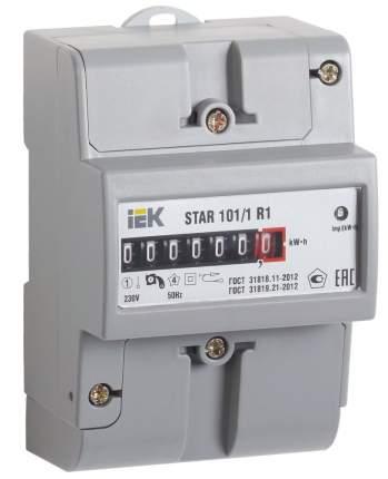 Счетчик электроэнергии IEK STAR 101/1 R1-5(60)М, 1 фаза, 1 тариф, 5АCCE-1R1-1-01-1