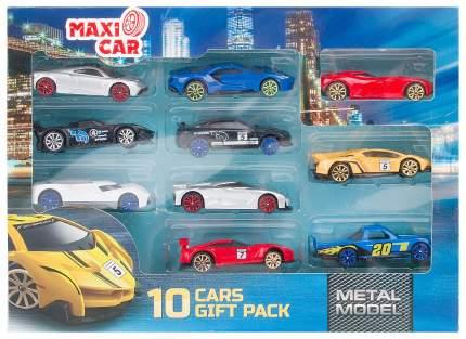 Набор машинок Zhorya Maxi Car 10 штук i-I868-10