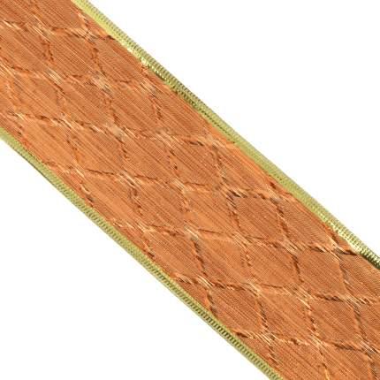 Лента декоративная Феникс Present Оранжевый ромб 6,3x270 см