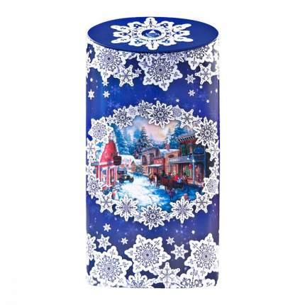 Чай ИМЧ снежные кружева синяя черный листовой 50 г