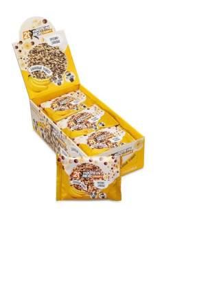Хлебцы ProteinRex  протеино-злаковые банановый трайфл 12 штук по 55 г