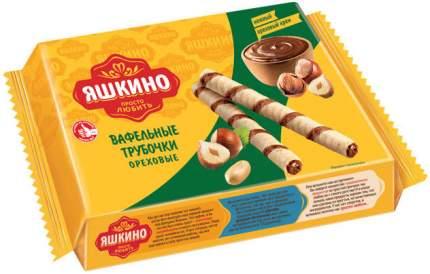 Трубочки вафельные Яшкино Ореховые 190г