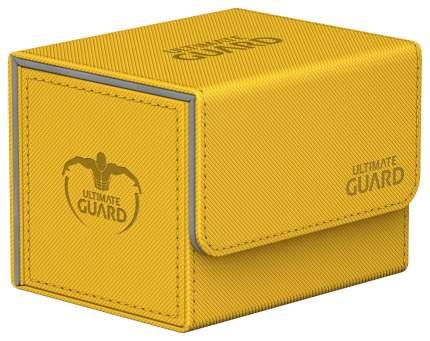 Коробочка Ultimate Guard с боковой загрузкой XenoSkin на 100 карт, желтая