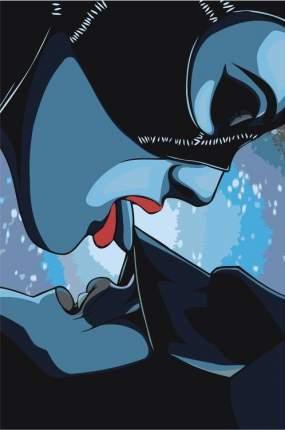 "Живопись по номерам Живопись по Номерам ""Бэтмен и Женщина-кошка"", 40x60"