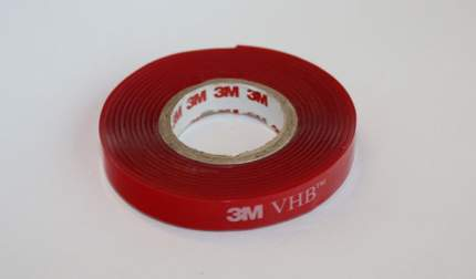 Монтажная прозрачная двусторонняя клейкая лента 4910F, VHB™, 1,5 м x 8 мм