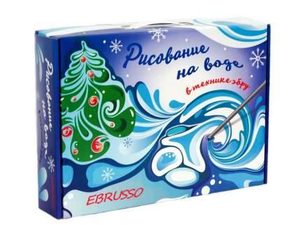 "Набор для эбру EBRUSSO ""Зима"" 8 цветов"