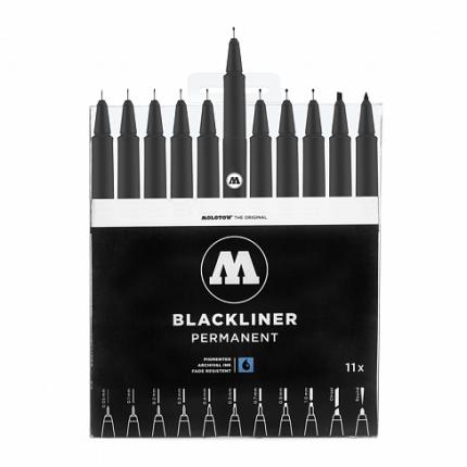 Набор Molotow Blackliner Complete Set 11 штук
