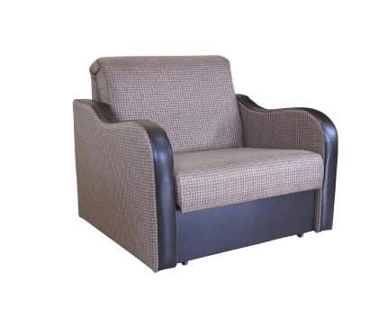 Кресло кровать Коломбо рогожка коричневый