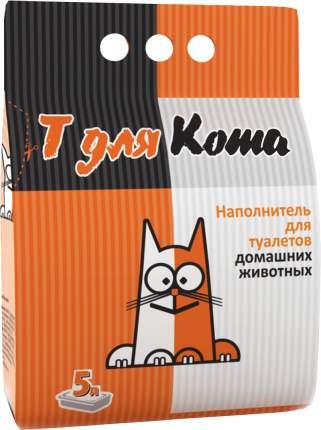 Впитывающий наполнитель для кошек Т для котэ Zeolite цеолитовый, 3.38 кг, 5 л