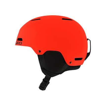 Горнолыжный шлем детский Giro Crue 2018, красный, M