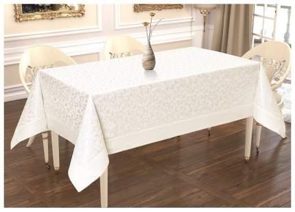Скатерть KARNA MARAL 2736 Прямоугольная цвет Белый