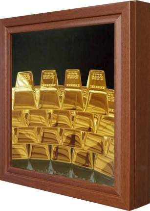 """Ключница """"Gold"""" Орех"""