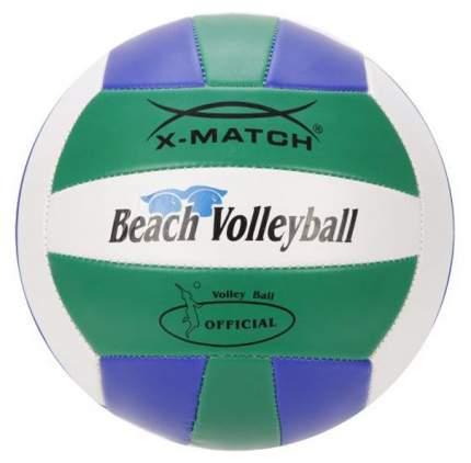 Волейбольный мяч X-Match 56298 №2 blue/white/green
