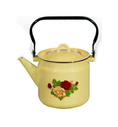 Чайник для плиты СТАЛЬЭМАЛЬ 1С25/С 2 л