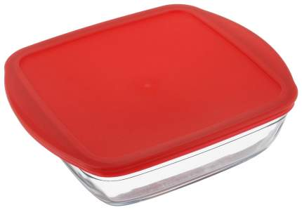 Форма для запекания Ocuisine 212 Прозрачный, красный