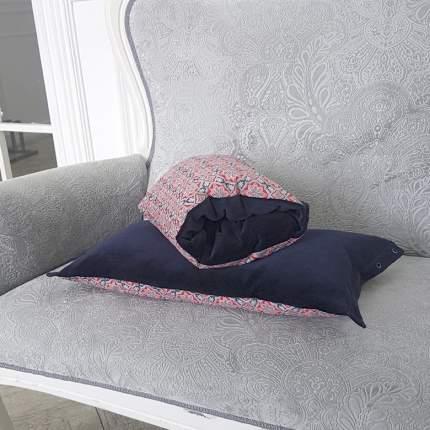 Подушка-трансформер для кормления TI AMO МАМА Magic Pillow красный орнамент, синий