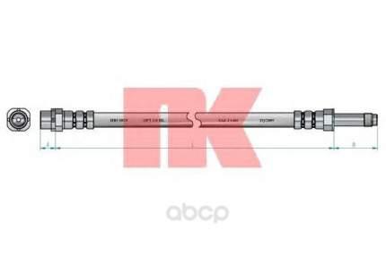 Шланг тормозной системы Nk 851511 передний