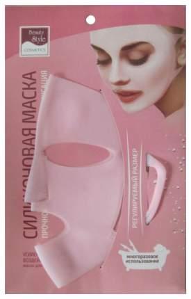 Маска для лица Beauty Style Фиксирующая силиконовая 1 шт