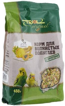 Основной корм Triol для волнистых попугаев 450 г, 1 шт