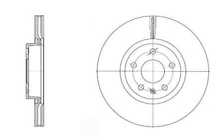 Тормозной диск RoadHouse 6972.10