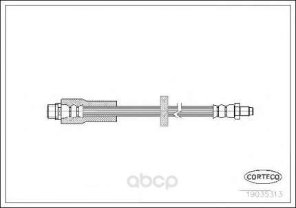 Шланг тормозной системы Corteco 19035313
