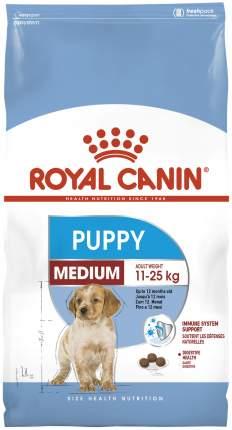 Сухой корм для щенков ROYAL CANIN Puppy Medium, птица, рис, 3кг