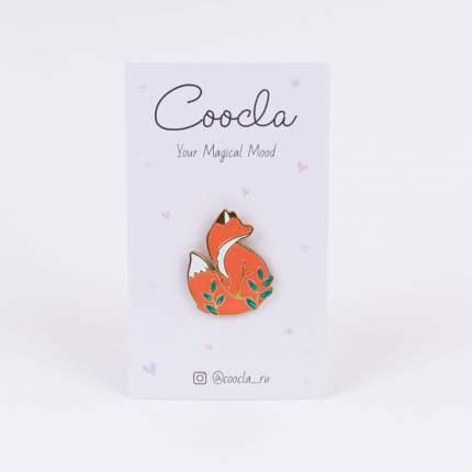 Металлический значок Coocla Little Fox