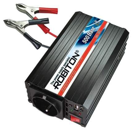 Преобразователь напряжения Robiton R500 DC 12В на AC 220В, 500Вт