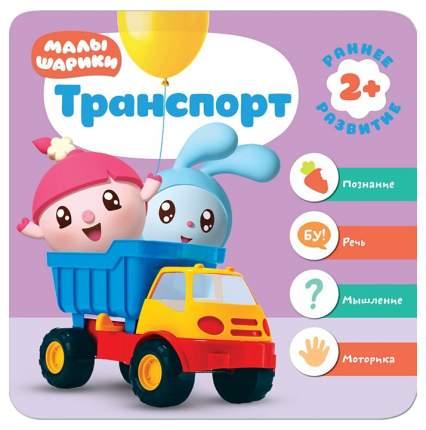 Книга Мозаика-Синтез курс Раннего развития 2+ Малышарик и транспорт