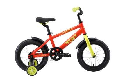 Велосипед Stark19 Foxy 14 оранжевый/зеленый