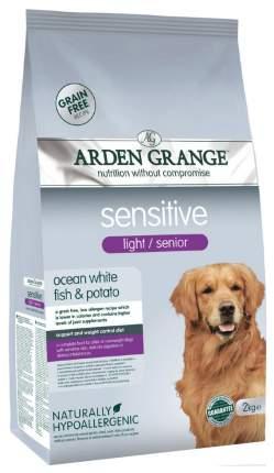 Сухой корм для собак Arden Grange Sensitive Light/Senior, рыба, 2кг