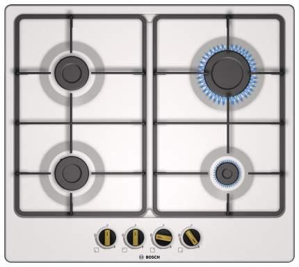 Встраиваемая варочная панель газовая Bosch PGP6B1B60R White