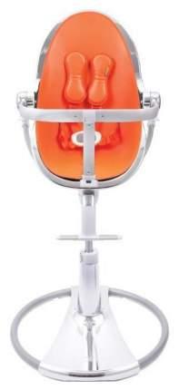 Стульчик для кормления Bloom Fresco Chrome Silver Silver, оранжевый