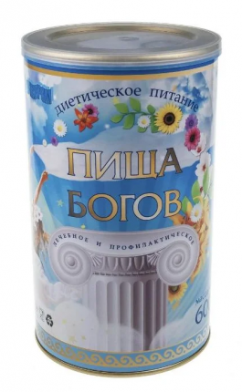 Коктейль Пища богов соево-белковый вкус клубника 600 г