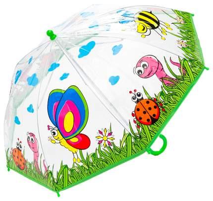 Детский зонт Mary Poppins Насекомые прозрачный 46 см