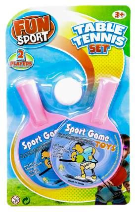 Набор для настольного тенниса Fun Sport 3004B, 2 ракетки, 1 мяча