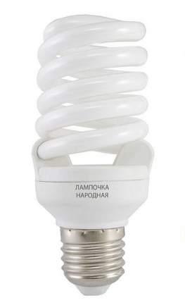 Лампа энергосберегающая Tdm Sp E27 20W 4000 107X53(T2) Fs Народная Sq0347-0011