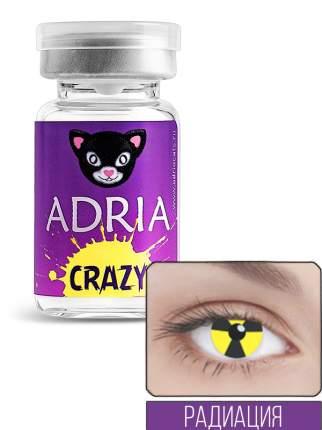 Контактные линзы ADRIA CRAZY 1 линза 0,00 radiate