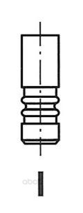 Клапан двигателя vw/audi 2.5tdi v6 afb akn 98 24.5x6x100.4 ex Freccia R6086/BMARCR