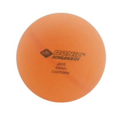 Мячи для настольного тенниса Donic Jade оранжевые, 6 шт.